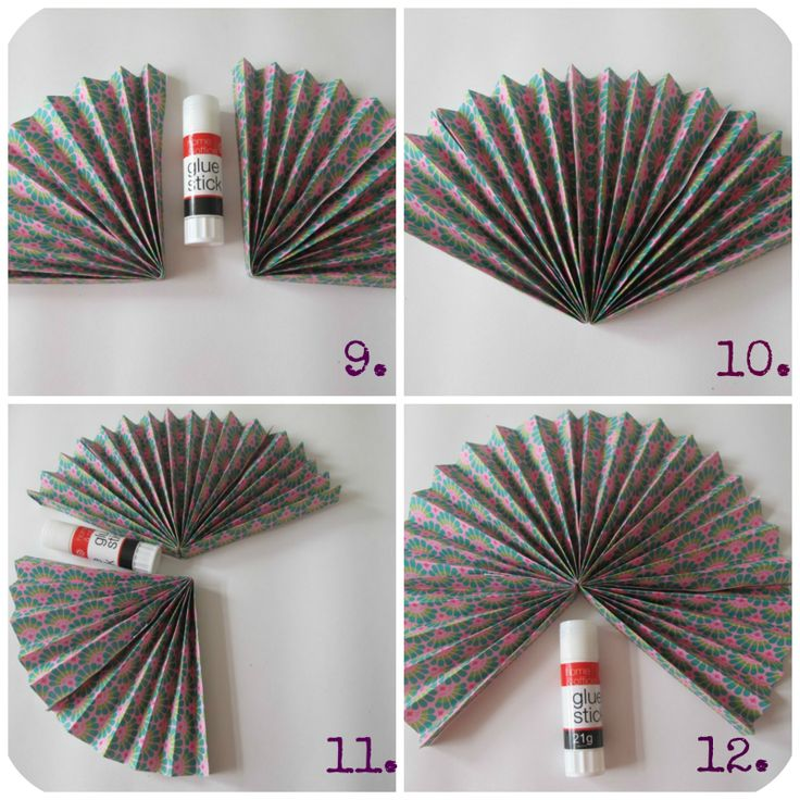 Paper fan diy tutorial party ideas pinterest for Paper decorations diy