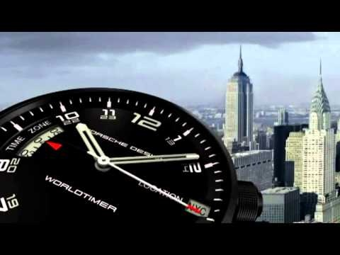 Porsche Design P6750 Worldtimer - Did you know the Porsche Design P'6750 Worldtimer movement has a 48-hour power reserve?