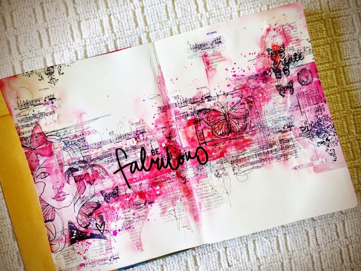 A Little Peek at Me: Art Journalling - This could be important...