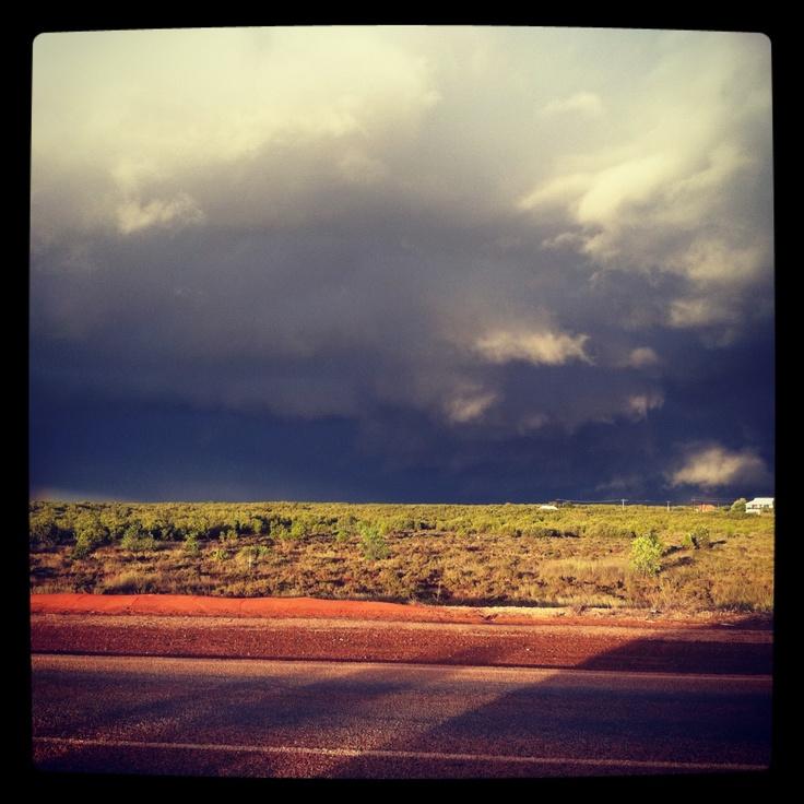 Wet season storm, Broome Australia