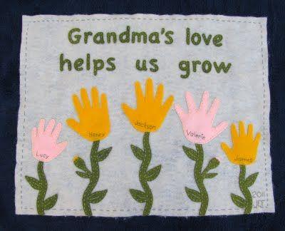 Mother's Day Handprint Gift.
