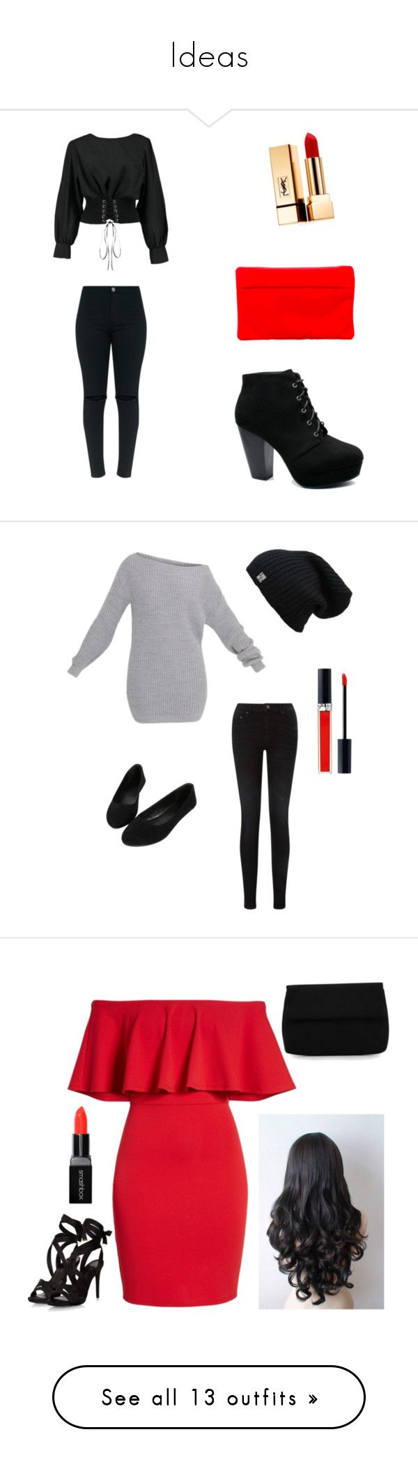 Ideas by jennifer-anello on Polyvore featuring polyvore, fashion, style, Boohoo, Yves Saint Laurent, Corto Moltedo, clothing, Pieces, John Lewis, Soprano, Smashbox, Marissa Webb, Topshop, Butterfly Twists, Ann Taylor, WithChic, Christian Dior, Studio Time, Puma, adidas, Bling Jewelry, Jessica Simpson, River Island, New York & Company, Charter Club, Corral, Peter Grimm, Zimmermann, Hot Diamonds, country, Sans Souci, Miss Selfridge, Steve Madden, Jessica McClintock, Keds, Calvin Klein Jeans…