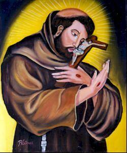 A pesar del gran cuidado que ponía el siervo de Dios en ocultar aquellas impresiones y señales de sus sagradas llagas, que el Señor había estampado en su cuerpo, no pudo estorbar que se viesen las de las manos y de los pies.