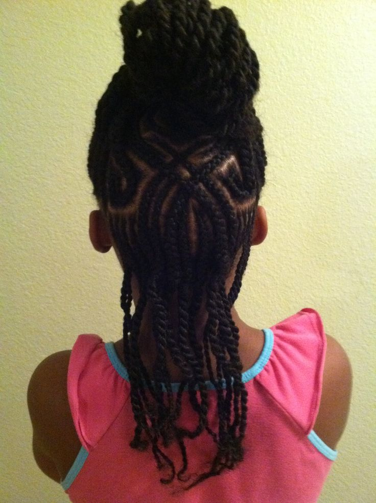 Fine 1000 Images About Natural Hairstyles Children On Pinterest Hairstyle Inspiration Daily Dogsangcom
