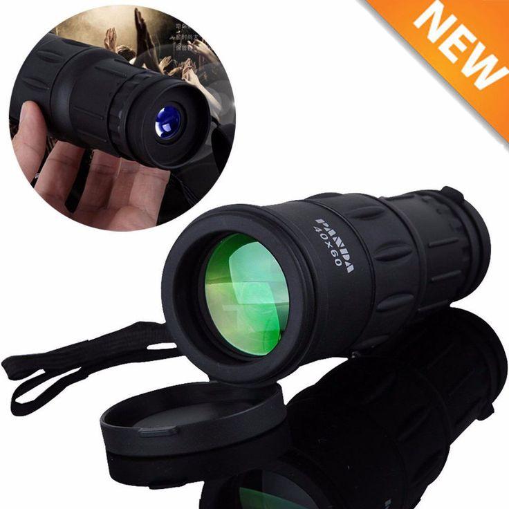Panda Monocular 40X60 Travel HD Zoom Focus BAK4 Prism Telescope + phone Clip,HX #Panda