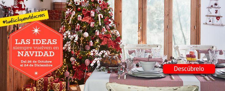 ¡AKÍ ya es #Navidad!  Disfruta de una #Navidad única en tu hogar eligiendo todo lo que necesitas en nuestro folleto digital. Encontrarás: -Diferentes estilos de árboles de #Navidad. -Decoración navideña. -Iluminación especial.  #Navidad y #Decoración