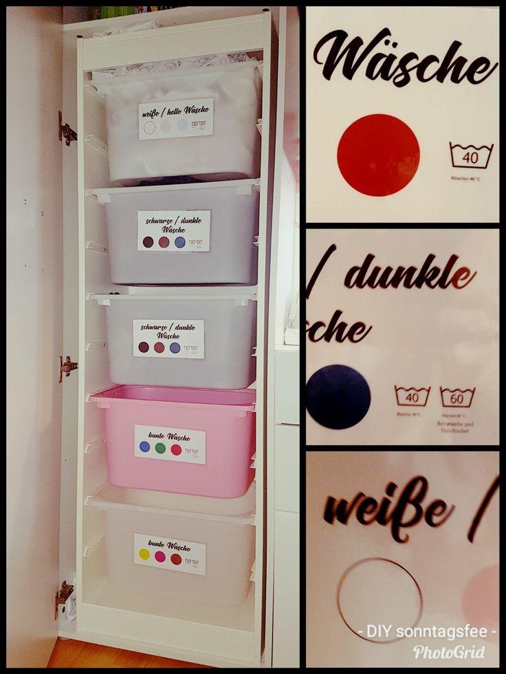 W 228 Sche Sortieren Mit Ikea Trofast Holy Home Laundry In 2019 W 228 Sche Sortieren Ikea W 228 Sche