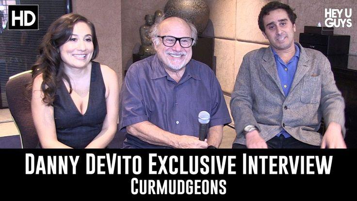 Danny DeVito, Jake DeVito & Lucy DeVito on their short film Curmudgeons