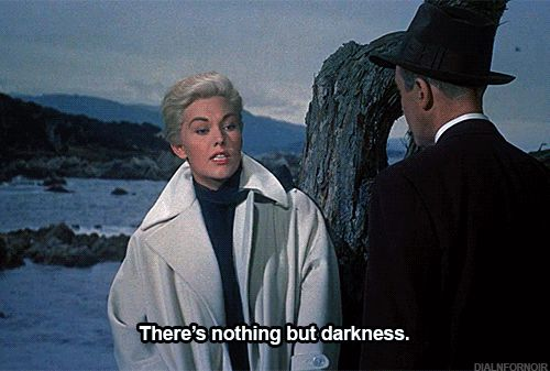 Michèle Morgan : there's nothing but darkness, embrassez-moi