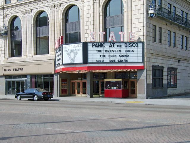 State Theater Detroit Michigan. Recently Named The Fillmore