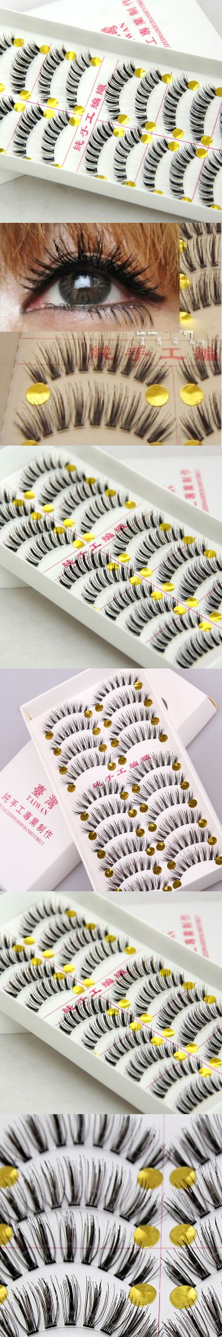 Fake Eye Lashes Tools Natural False Eyelashes Extensions Makeup Eyelashes 3d Volume Lashes Transparent Make Up For Professionals