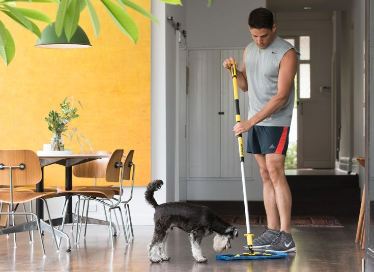 When your floors need that extra deep cleaning action, there's the Extreme Floor Fibre! Perfect for indoor and smooth outdoor surfaces, this natural, heavy duty cleaner lifts and removes built-up dirt and grime.