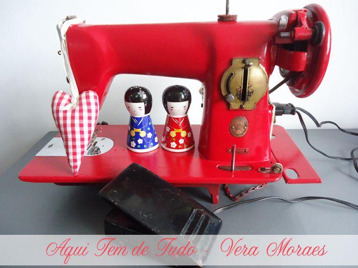 Reforma de máquina de costura