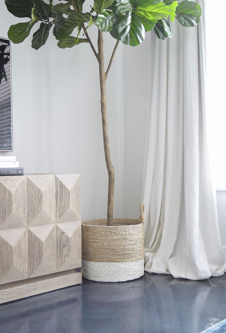 The Best Faux Fiddle Leaf Fig out there for sale