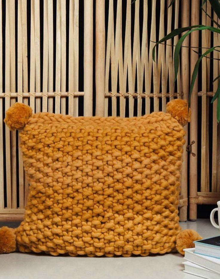 Perlepute i Crazy Mega Wool - GRATISOPPSKRIFT