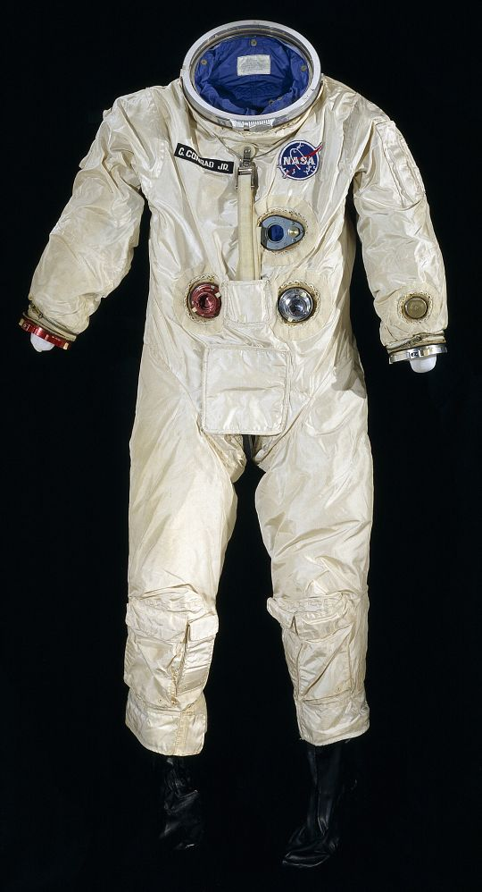 "G3-C spacesuit worn by astronaut Charles ""Pete"" Conrad on Gemini V mission launched this day in 1965."