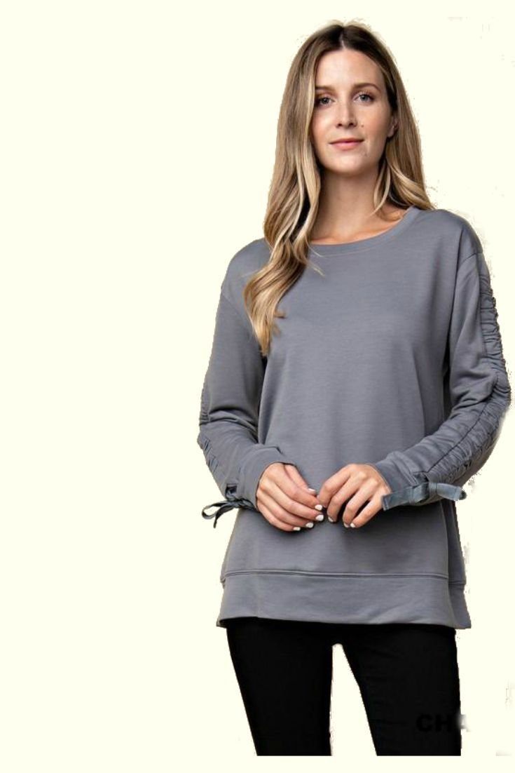 Everyday Upscale Sweatshirt Dressy Casual Outfits Weekend Outfit Womens Fashion Casual Spring [ 1102 x 735 Pixel ]