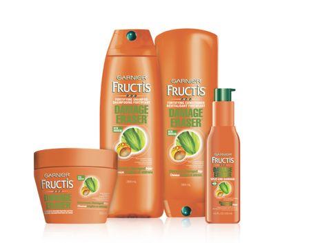 I'm learning all about Garnier Fructis Haircare Garnier Fructis Damage Eraser at @Influenster!