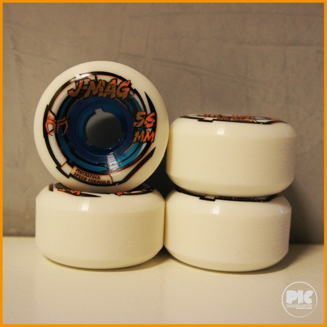 J-MAG - 56mm via PIC Skateboards. Click on the image to see more!