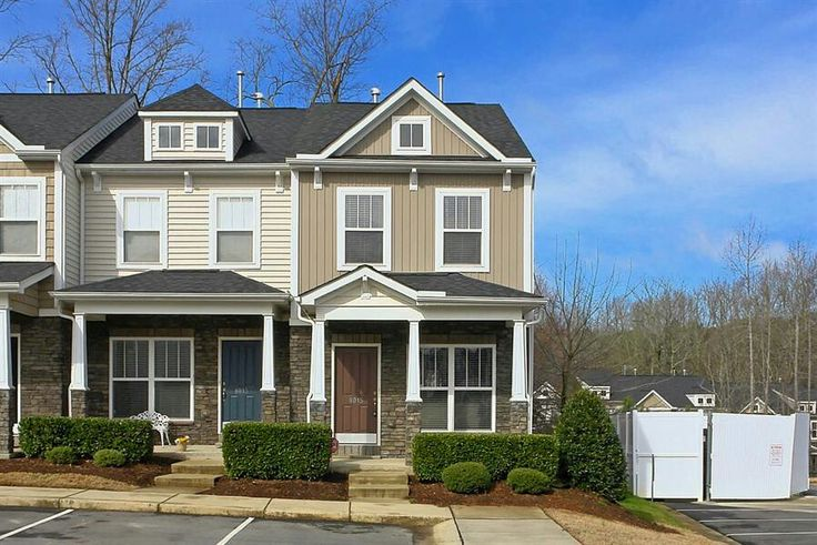 Small townhome craftsman style townhomes pinterest for Craftsman style homes for sale in maryland