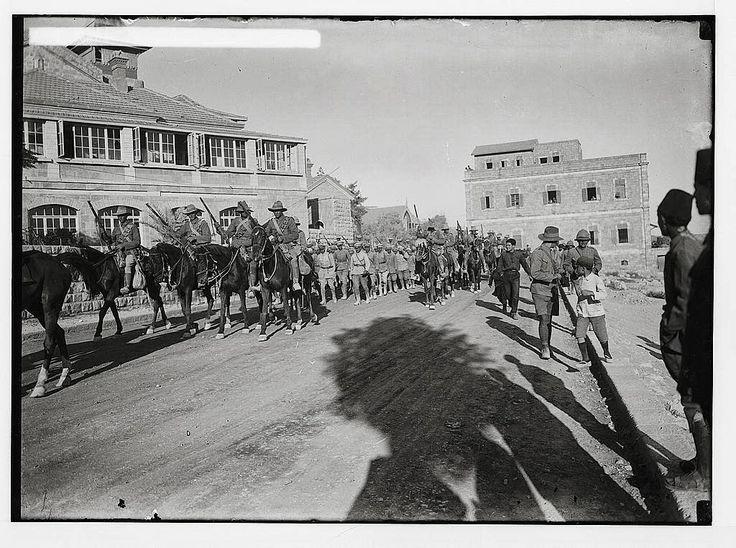 Australian Light Horse, Beersheeba,1917
