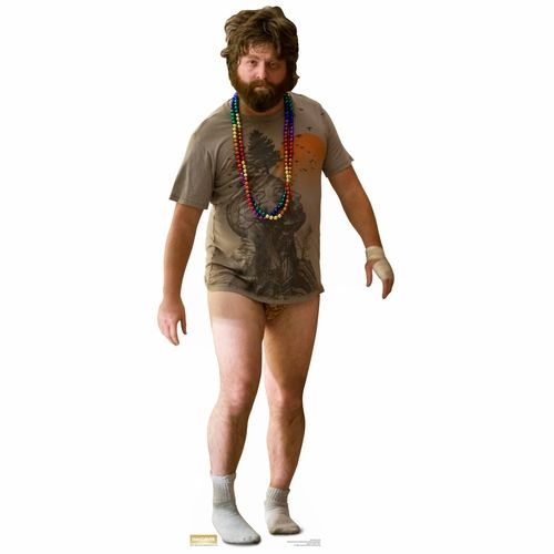The Hangover Alan Garner Lifesized Standup $34.95