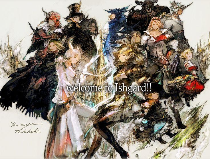 「ファイナルファンタジーXIV: 蒼天のイシュガルド」カウントダウンイラスト! | FINAL FANTASY XIV, The Lodestone