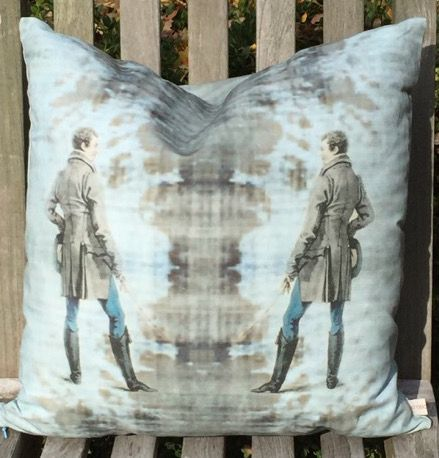 Root Cellar Designs Man pillow with its mysterious feel