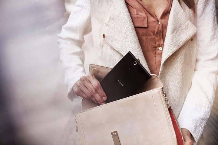 Desain yang mudah dibawa kemanapun. Xperia Z Ultra