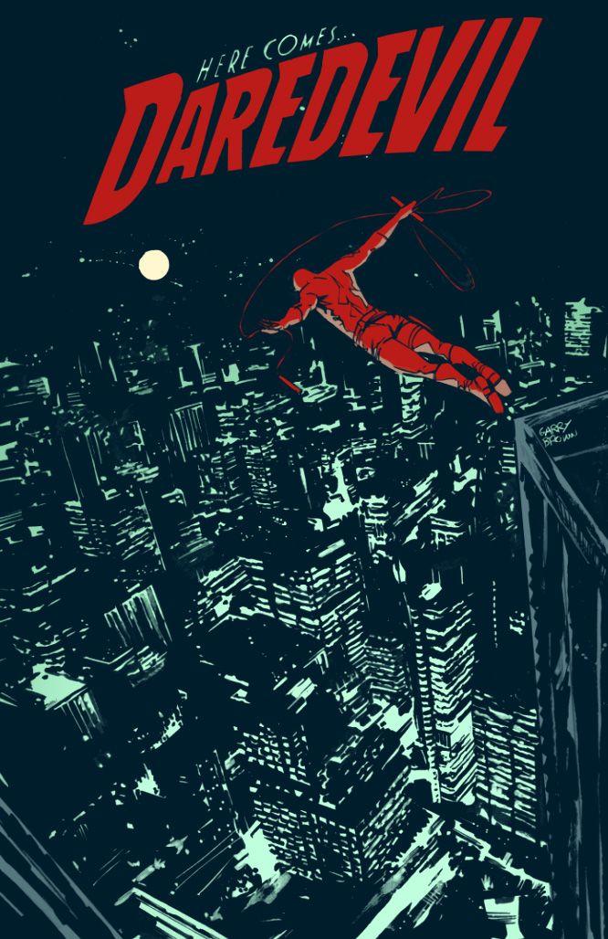 Daredevil by Garry Brown, colours by SpicerColor.deviantart.com on @deviantART