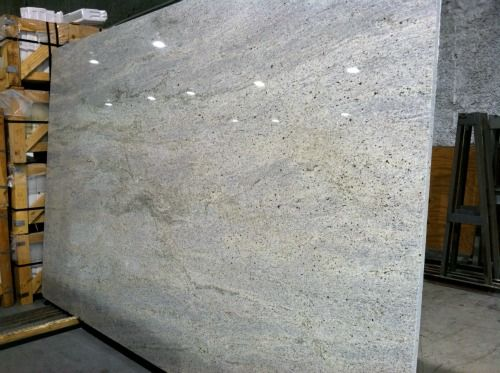 KashmirWhiteGranite... like this...    Arizona tile carries it