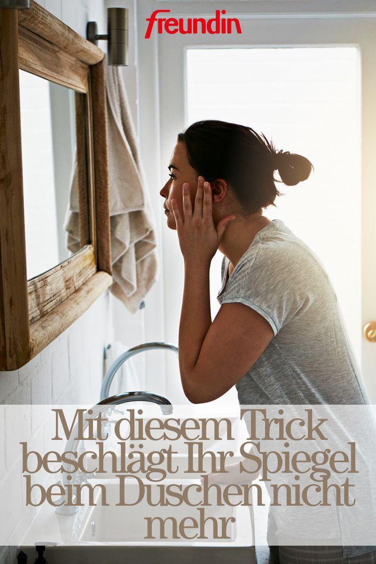 Mit sem Trick beschlägt Ihr Spiegel beim Duschen nicht