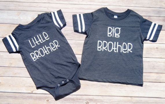 Big Brother and Little Brother Shirt Set by EmmieKayDesigns