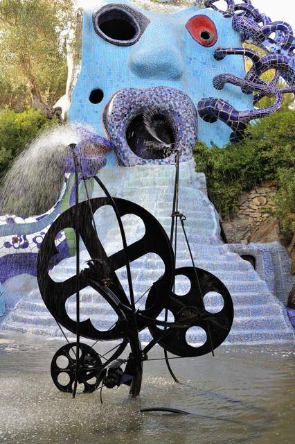 40 best images about le jardin des tarots on pinterest - Niki de saint phalle jardin des tarots ...