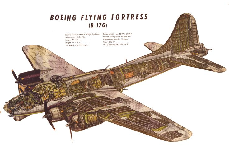 B-17G-Cutaway-drawing.jpg (3600×2387)