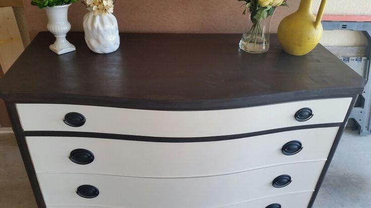 Antique dresser redo after picture 2