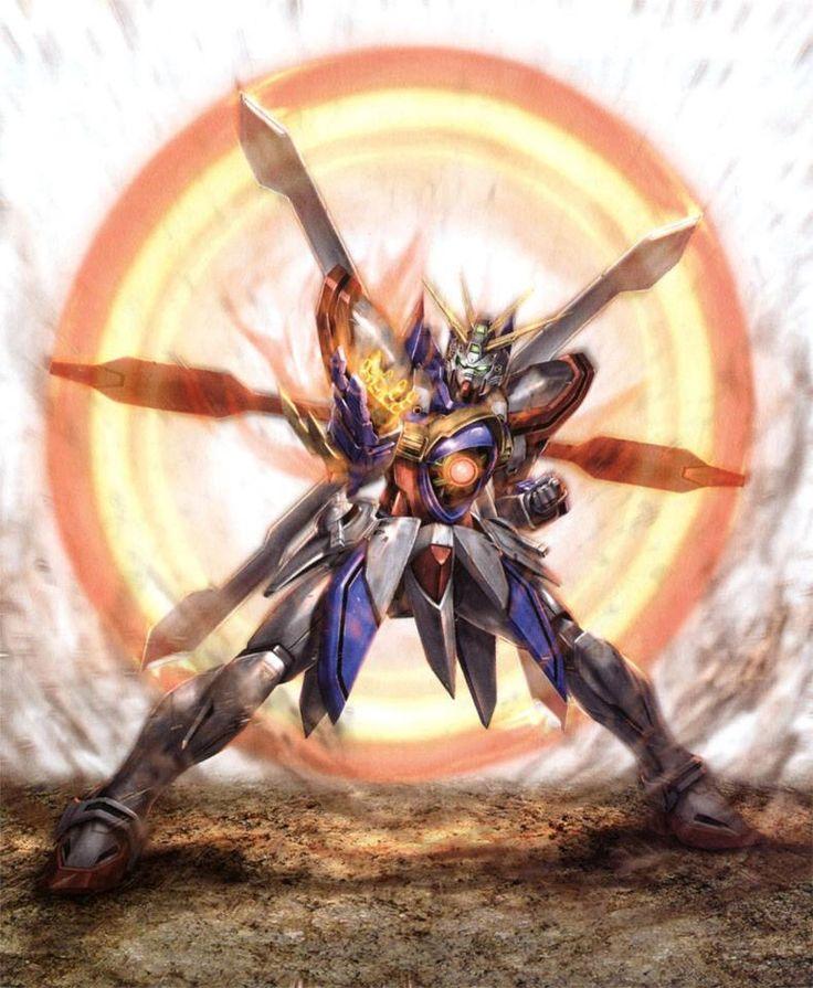 Mobile Fighter G Gundam - GF13-017NJII God Gundam
