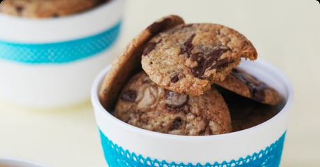 Chocolate chip cookies :)