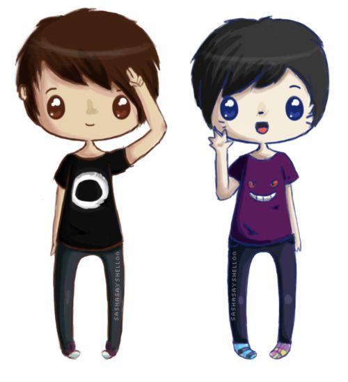 dan and phil {danisnotonfire and amazingphil}