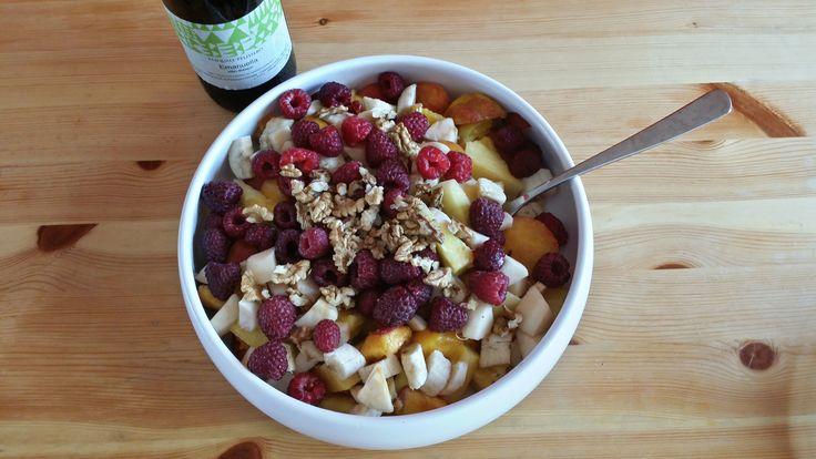 Favorite #breakfast #fruits #organic
