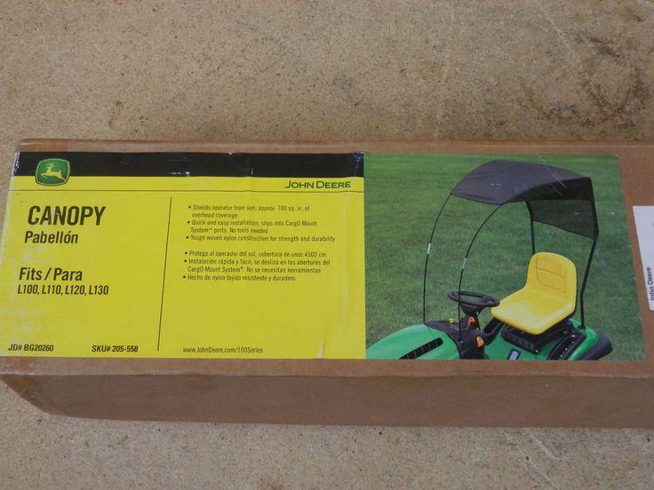 John Deere Lawn Mower Tractor Sun Canopy Shade BG20260 L100, L110, L120, L130 #JohnDeere
