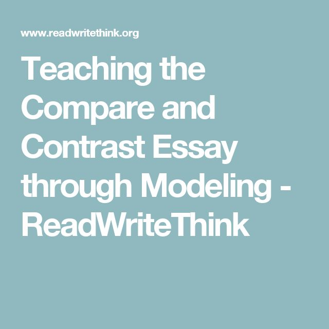 compare contrast essay middle school lesson plans Editable compare / contrast writing unit for english language arts grades 5 - 8  guided, step-by-step instructions for 5,711 downloads compare / contrast writing unit for middle.