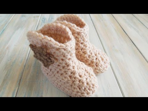 Learn To Crochet These Cowboy Baby Booties – Crafty House