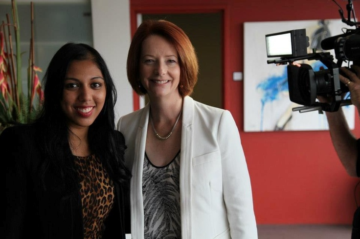 Julia Gillard shares the best piece of advice she's ever been given with producer Naomi Shivaraman..