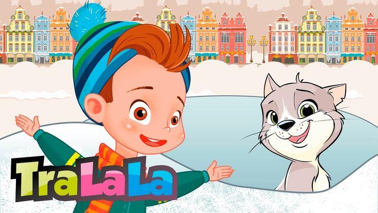 Merg acuș' la săniuș - Cântece de iarnă pentru copii | TraLaLa