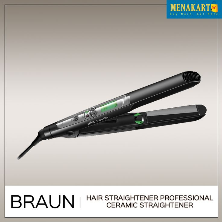 Shop for Braun Hair Straightener Professional Ceramic Straightener Online #Womens #Hairstraightener #Online #Shopping #Menakart