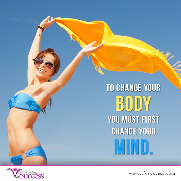 change my thinking to lose weight