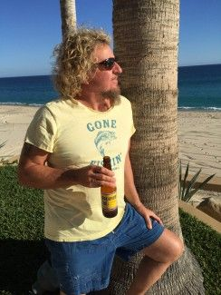 Good times in Cabo last night I woke up this morning to a little hair of the dog…