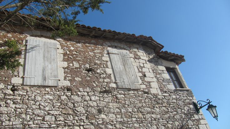 A traditional house at the stone village of Dimitsana, Greece