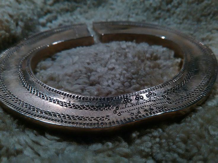 Reconstruction of warrior bracelet from Gugeru, 11 c. Latvia ( karavira aproces (lat.) ) Made by Tomasz Czyszczoń